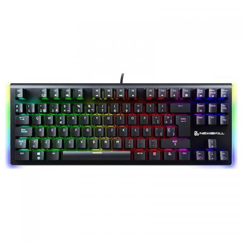 Newskill Serike TKL Teclado Mecánico Gaming Full RGB Switch azul NSKBSERIKETKLBLUE